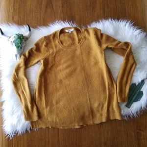 Madewell gold mustard sweater